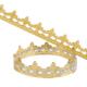 Kit galette des rois, 2 fèves, 3 couronnes