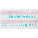 FMM Alphabet tappits Lower Case, 1 cm