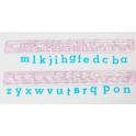FMM Emporte-pièce Alphabet minuscule, 1 cm