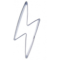 Cookie Cutter lightning bolt, approx. , 8 x 2.5 cm