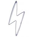 Cookie Cutter lightning bolt, approx. , 8 x 2.5 cm