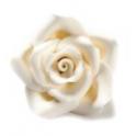 Decora White Sugar Roses, 2 cm, 8 pièces