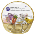 Wilton - Mini Cookie Cutter Set Easter, set of 6