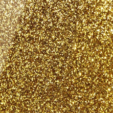 Plexiglas golden glitter